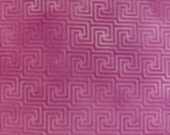 Paintbrush Studios Tribal Council Fushia Maze Quilters Cotton Fabric BTY