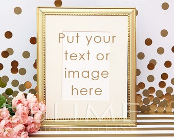 Styled Stock Photography / Blank Frame / Mock up / Styled Image / Empty Frame / Frame Mock Up /  2 JPEG Digital Imaged / StockStyle-505