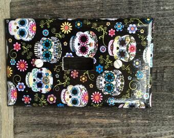 Cute Sugar Skulls Switch Plate Cover