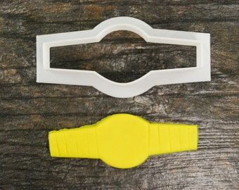 Watch Cookie Cutter, Mini and Standard Sizes, 3D Printed