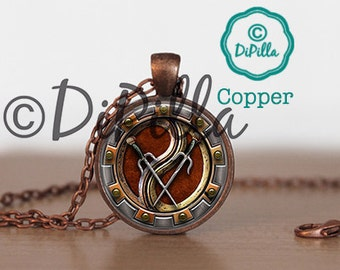 Zena Warrior Princess Inspired Pendant with Chain and 3 Choice designs
