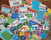 Mackinac Island Scrapbooking Clip Art