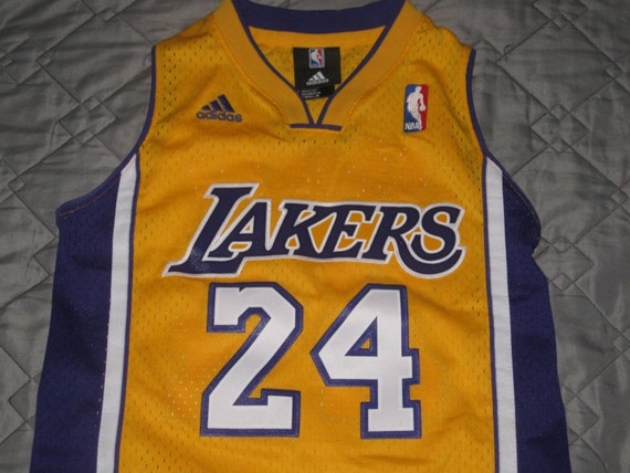 Sale EUC Adidas Los Angeles LA Lakers Basketball by casualisme