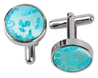 Paisley Turquoise Cufflinks