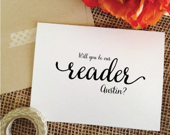 Personalized Will you be our reader (Lovely)