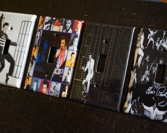 Elvis Light Switch Plate/Covers