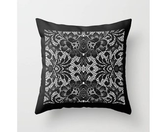 Lace Throw Pillow Covers : Lace pillow covers Etsy