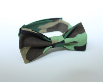 Bow ties: Camouflage!