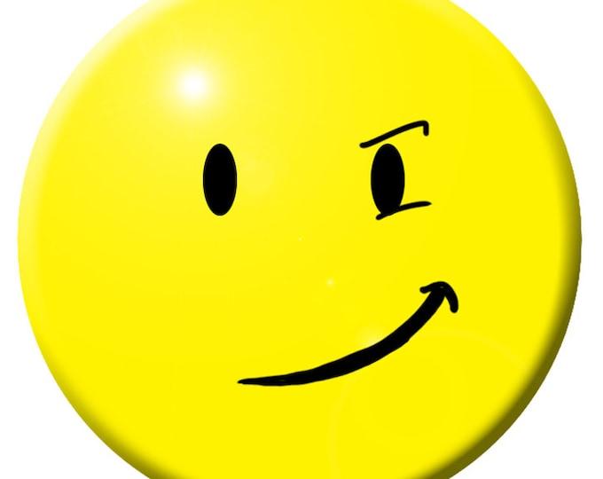 Smirky Button
