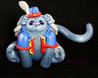 Flying Monkey Polymer Clay Figure from the Wizard of Oz