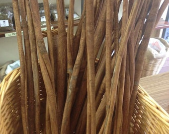 Long Cinnamon sticks 5 pieces from Indonesia 20inches / 50cm each