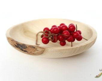 Poplar Wood Decorative Dish