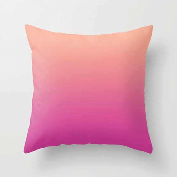 Couch pillow pink purple Decorative colorful throw pillow