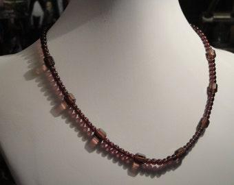 Plum Necklace