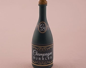 Wedding Favor - Wedding Bubbles Champagne Bottle Favor - Bridal Shower Favor - Party Favors - Champagne Bottle Wedding Favors - Bridal Party