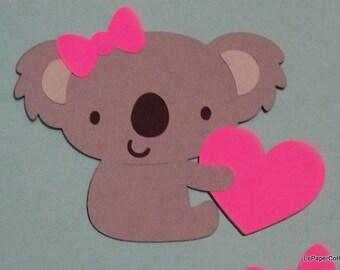 Koala bear die cuts