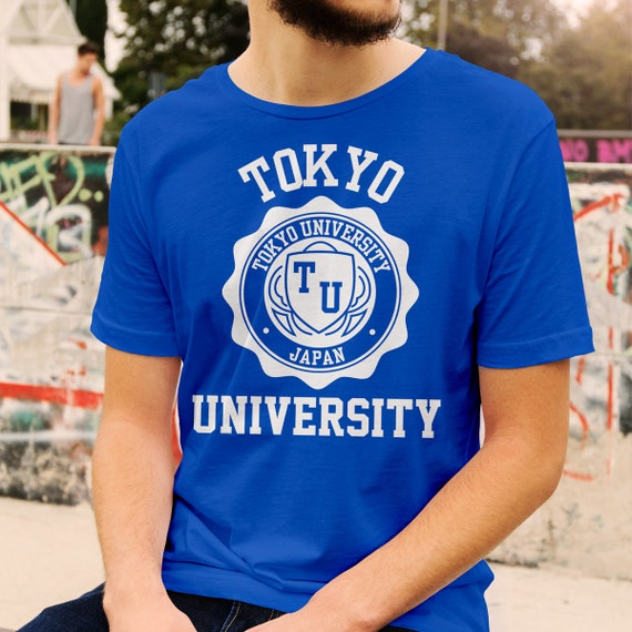 Tokyo University Logo T-Shirt All Colours And Sizes