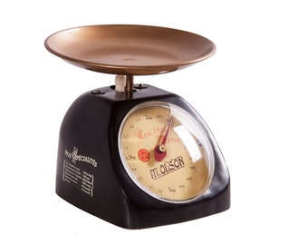 """Traditional Vintage Greengrocer - Style """"Epicerie"""" Kitchen Scales"""