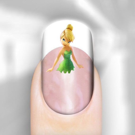 Tinkerbell Nails: Nail Art Image Transfer Decals Tinkerbell Peter By