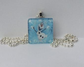 Frozen necklace / Frozen jewelry / Disney jewelry /Frozen necklace/ handmade jewelry