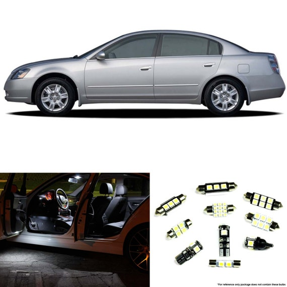 Nissan Altima 2002 2006 Premium Led Interior By Ledlightsnow