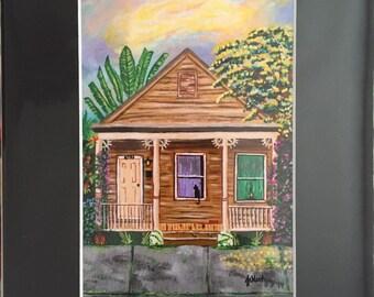 Key West Shotgun House Three