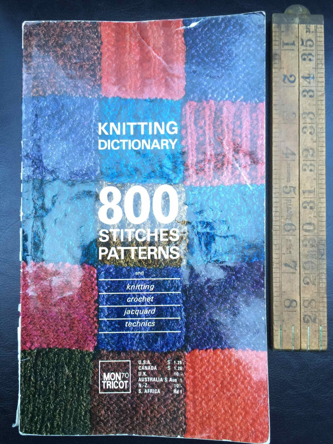 Mon Tricot Knitting Dictionary: 800 Stitches Patterns