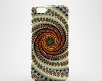 Antique Swirl Phone case,  iPhone X Case, iPhone 8 case,  iPhone 6s,  iPhone 7 Plus, IPhone SE, Galaxy S8 case, Phone cover, SS142a