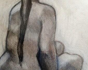 figurative in charcoal