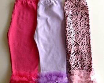 Child Petti Pants Size Medium 2-3y (Choose your color)