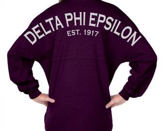 Delta Phi Epsilon Est. 1917 - Classic Spirit Jersey (with Crest) J047012690A