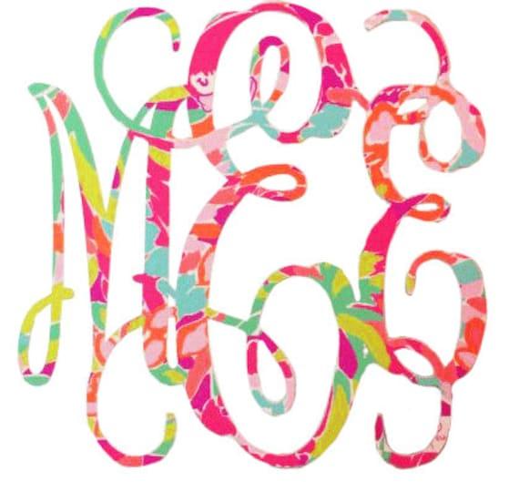 Make your own monogram free