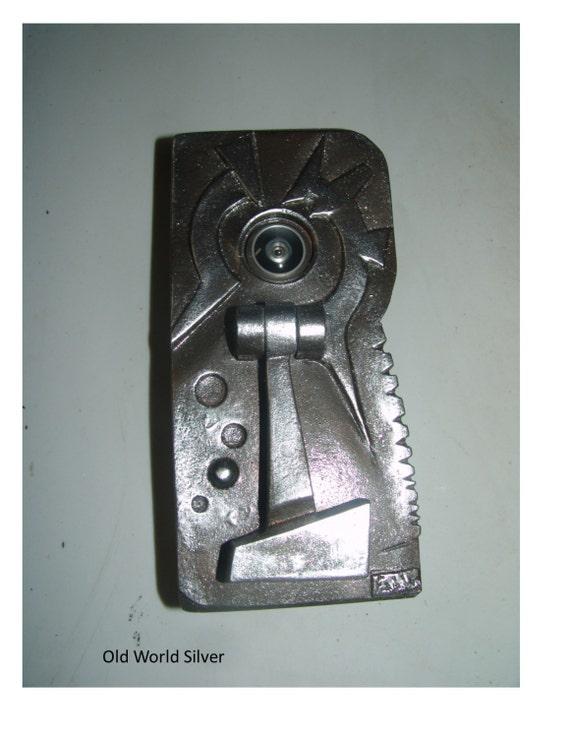 Distinguished peephole door knocker from fabbricreations on etsy studio - Door knocker with peep hole ...