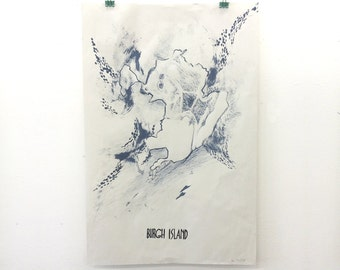 Burgh Island Poster