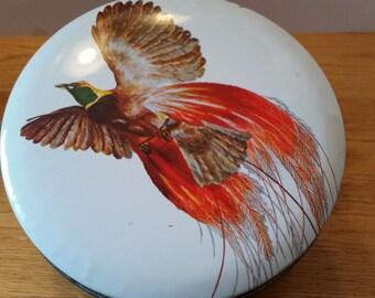 Vintage Pheasant Tin
