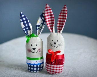 Funny bunny stuffed animal