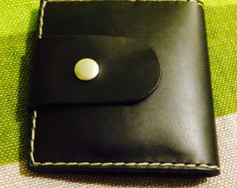 Handmade leather card holder - New