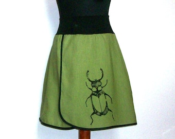 Linen skirt - knee - BEETLE