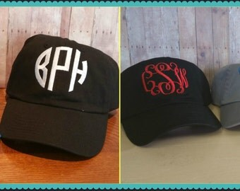 Hat Sale w/Monogram