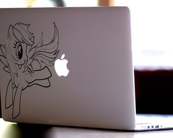 My Little Pony Decal for Macbooks, iPads, Laptops,Wall Decor and Vehicles, Geekery, Gift, For Her, For Him