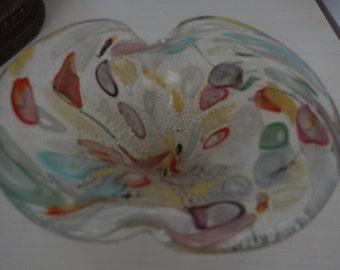 ITALY ART GLASS Bowl
