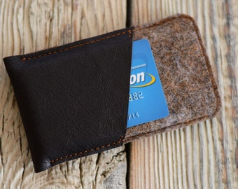 iPhone 5 case Leather iPhone 5 sleeve Card pocket iPhone 5 case