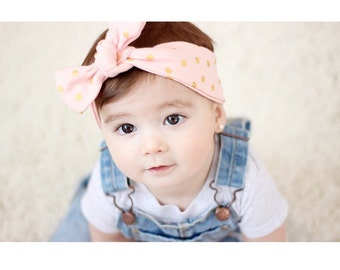 Items Similar To Top Knot Headbands Infants Kids Adults