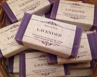 Lavender Natural Homemade Soap