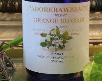 J'ADORE  BEAUTÉ present Orange Blossom Mist & Toner in 2oz or 4oz for all skin types