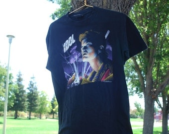 rare billy idol charmed life tour rock t