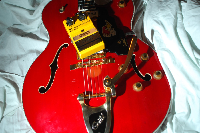 early 1980s fx50 dod overdrive guitar pedal. Black Bedroom Furniture Sets. Home Design Ideas