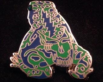 Grateful Dead Poison Dead Frog. Blue & Green . Limited edition-50