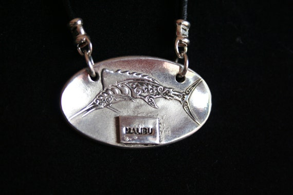 Sailfish in Sterling Silver.