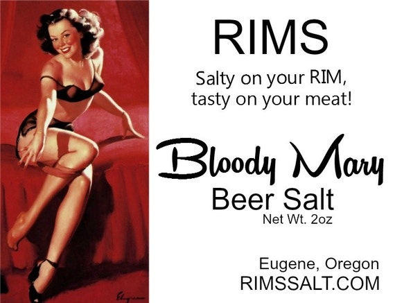 Bloody Mary Salt by RIMS / Gourmet Gift / Barbeque Grilling / Retro ...